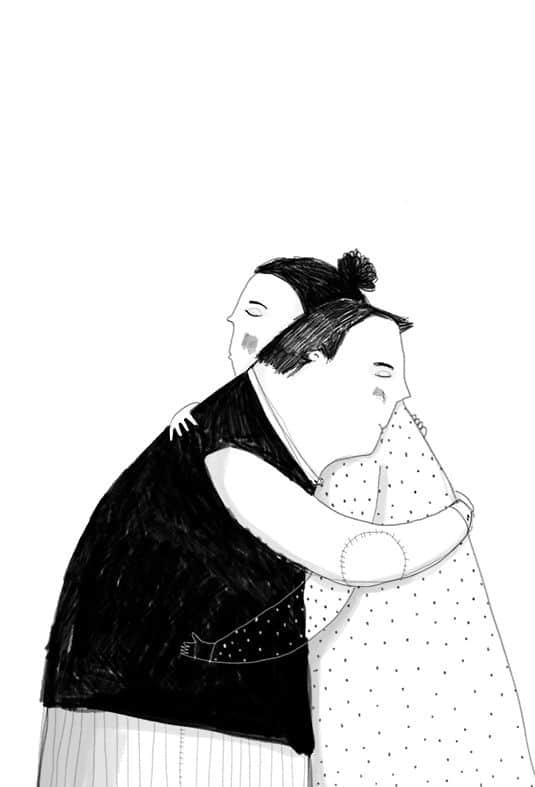 Hugs Are A Little Longer